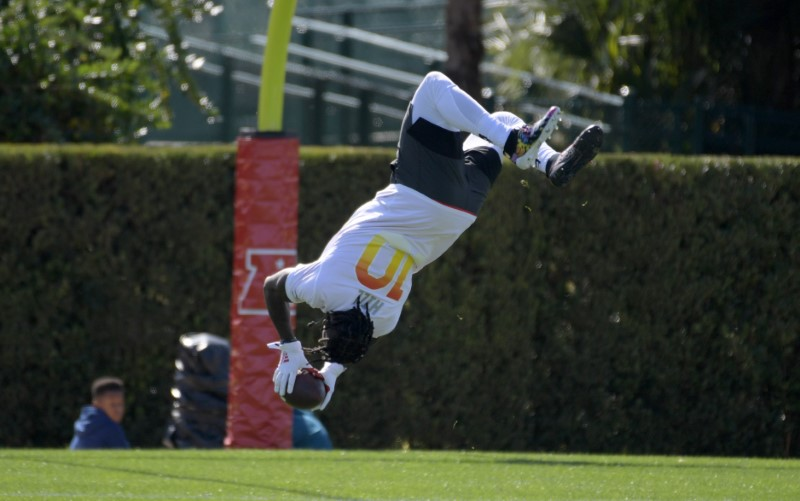 FILE PHOTO: NFL: Pro Bowl-AFC Practice