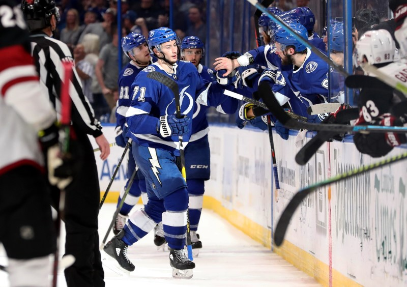 NHL: Arizona Coyotes at Tampa Bay Lightning