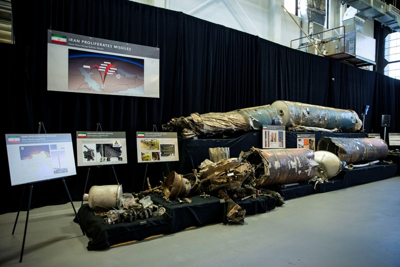 FILE PHOTO: Iranian Material Display at a Military Base in Washington