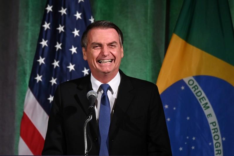 Brazilian President Bolsonaro participates in Brazil-U.S. Business forum