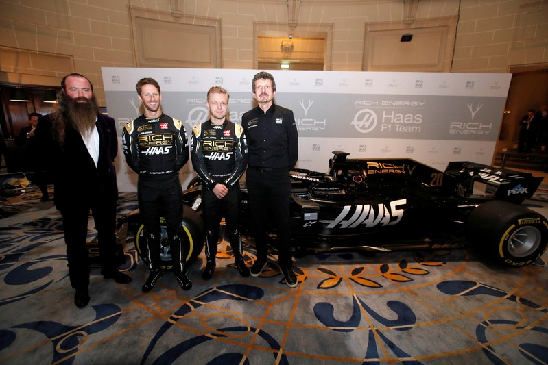FILE PHOTO: Haas Formula One Team Livery Launch