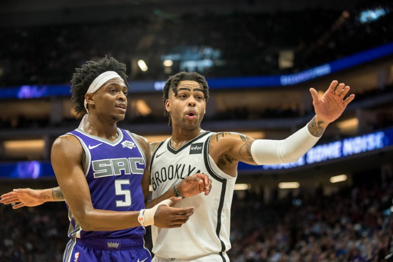 NBA: Brooklyn Nets at Sacramento Kings