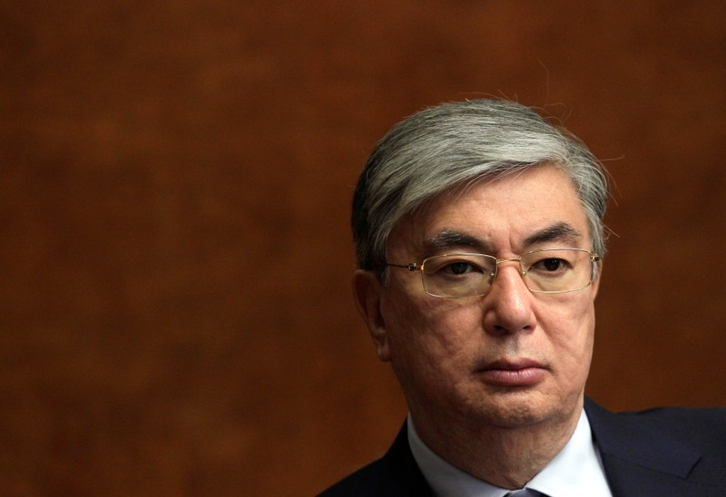FILE PHOTO: Newly appointed Director General of the UNOG Tokayev of Kazakhstan is pictured in Geneva