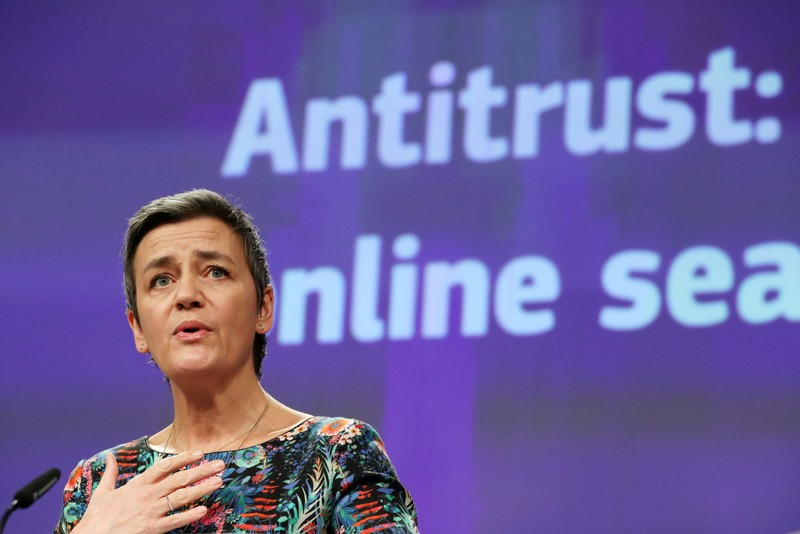 European Union fines Google $1.7B for monopolizing online ads