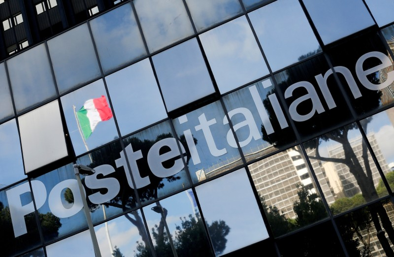 FILE PHOTO: Poste Italiane headquarters is seen in Rome