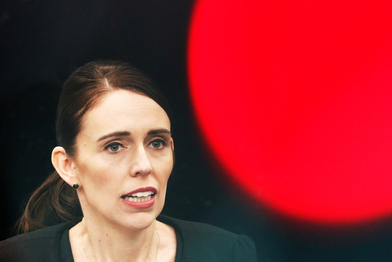New Zealand's Prime Minister Jacinda Ardern visits Christchurch