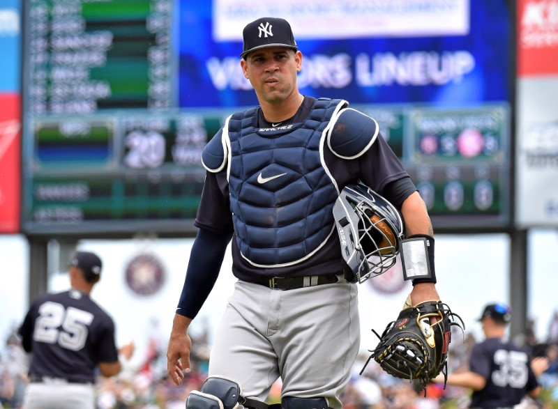 FILE PHOTO: MLB: Spring Training-New York Yankees at Houston Astros