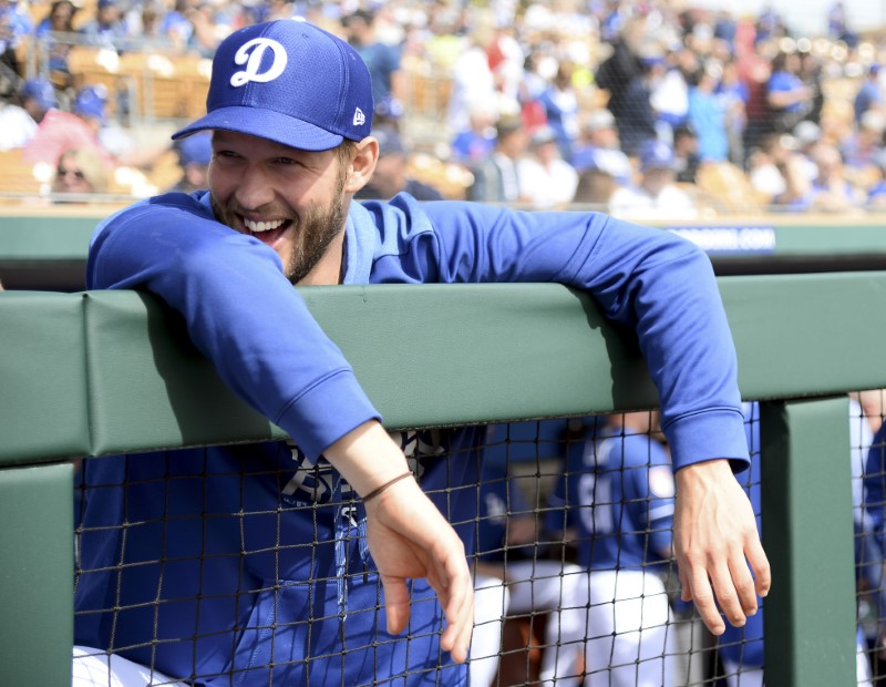 FILE PHOTO: MLB: Spring Training-Chicago Cubs at Los Angeles Dodgers