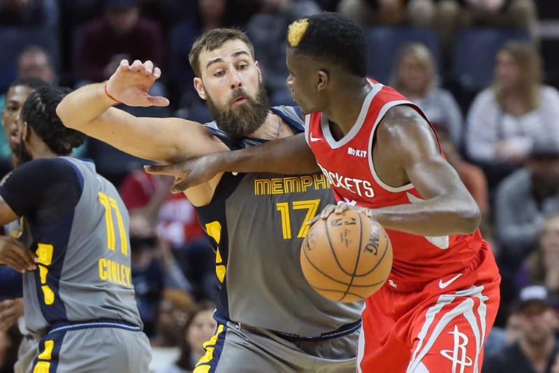 NBA: Houston Rockets at Memphis Grizzlies
