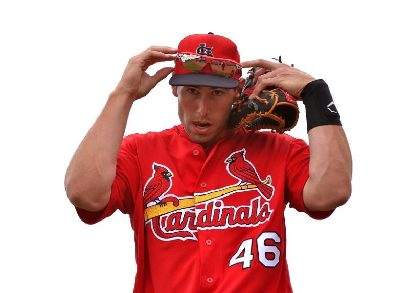 FILE PHOTO: MLB: Spring Training-Philadelphia Phillies at St. Louis Cardinals