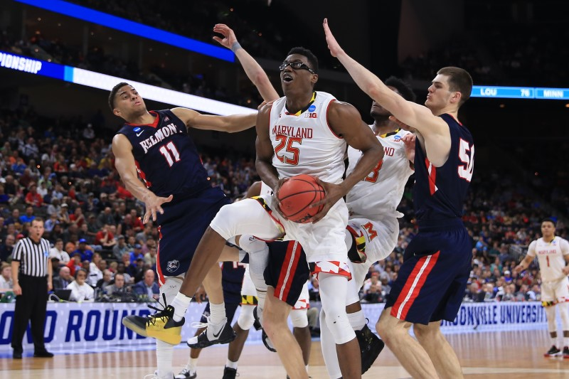 Maryland Avoids Upset Scare From Belmont In Nail-Biting Finish