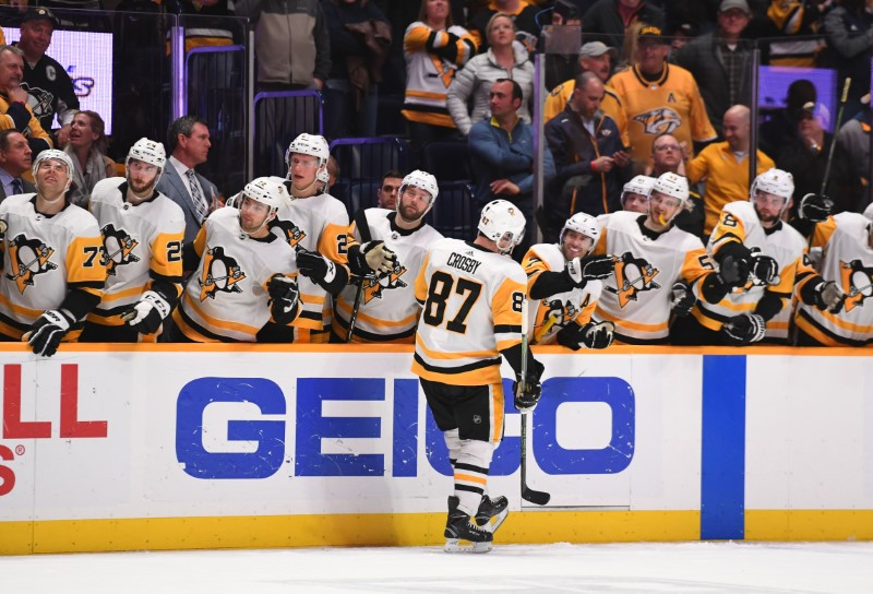NHL: Pittsburgh Penguins at Nashville Predators