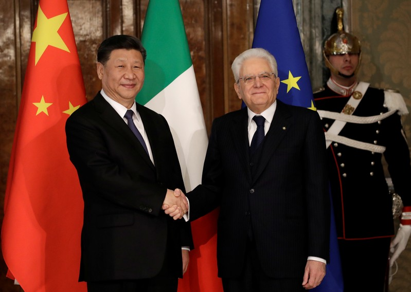 Chinese President Xi Jinping visits Italy