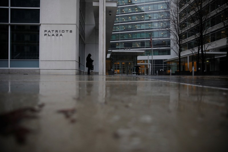 A building that houses an office of Special Counsel Robert Mueller is pictured in Washington