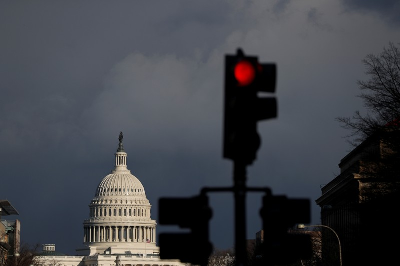 The U.S. Capitol is seen in Washington after Special Counsel Mueller handed in report on Trump-Russia investigation in W