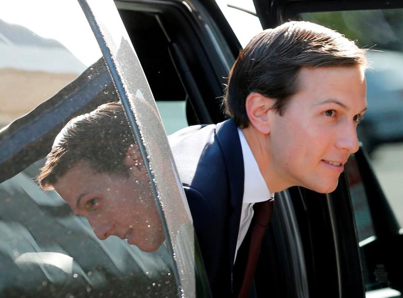 FILE PHOTO: White House Senior Adviser Kushner arrives for Senate Intelligence Committee hearing in Washington