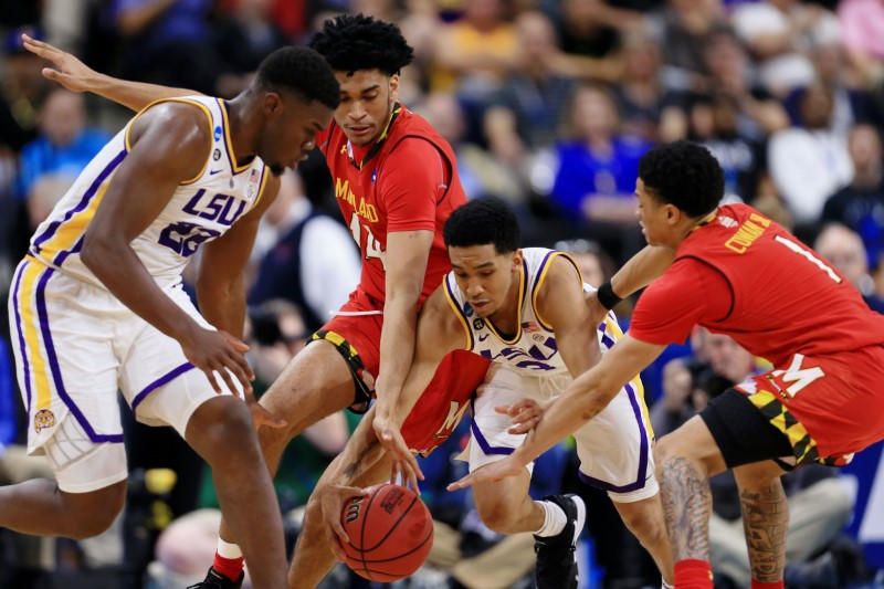 NCAA Basketball: NCAA Tournament-Second Round-Maryland vs LSU