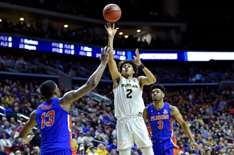 NCAA Basketball: NCAA Tournament-Second Round-Michigan vs Florida