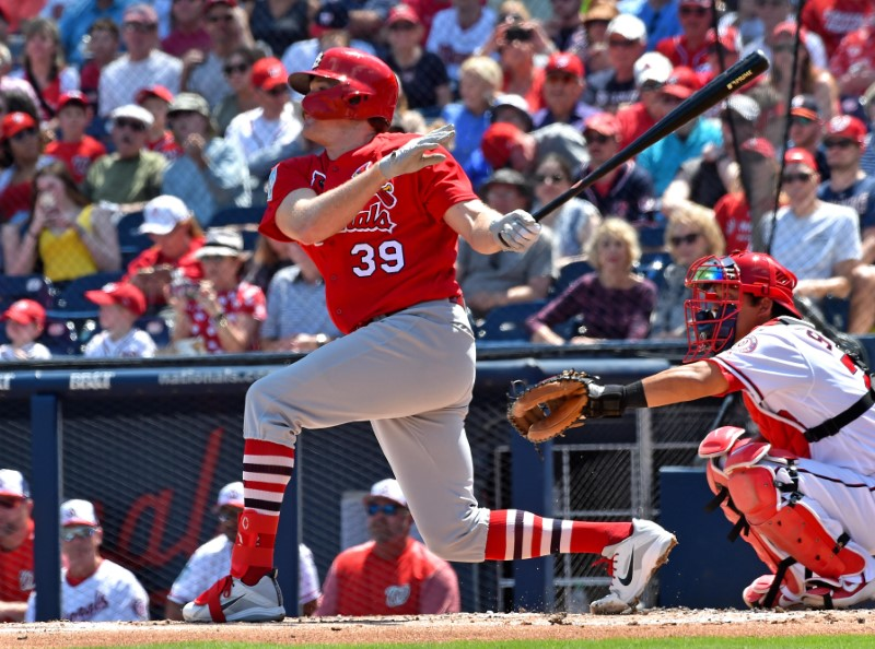 MLB: Spring Training-St. Louis Cardinals at Washington Nationals