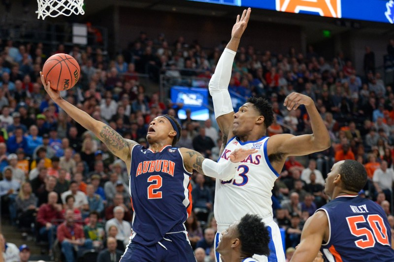 NCAA Basketball: NCAA Tournament-Second Round-Auburn vs Kansas