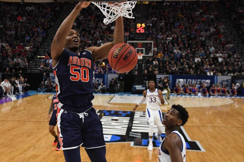 Auburn knocks Kansas out of the NCAA Tournament, 89-75