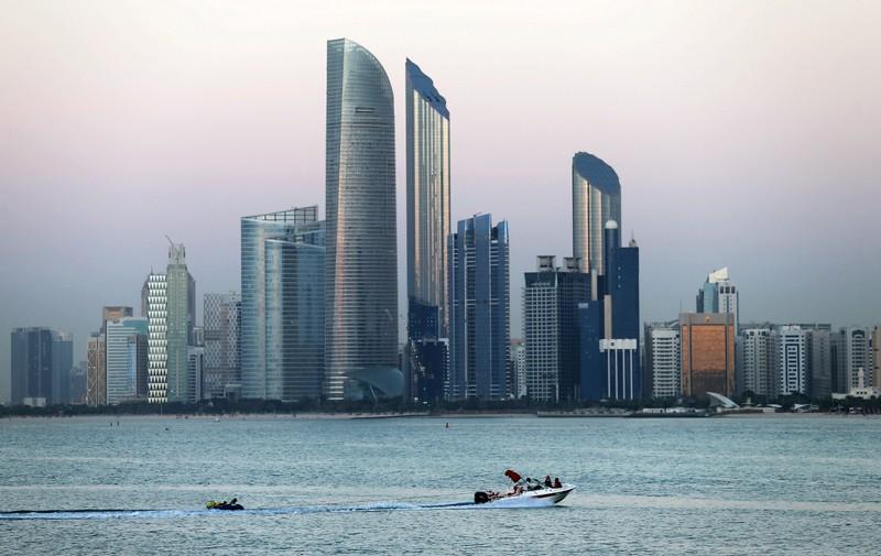 FILE PHOTO: General view of Abu Dhabi