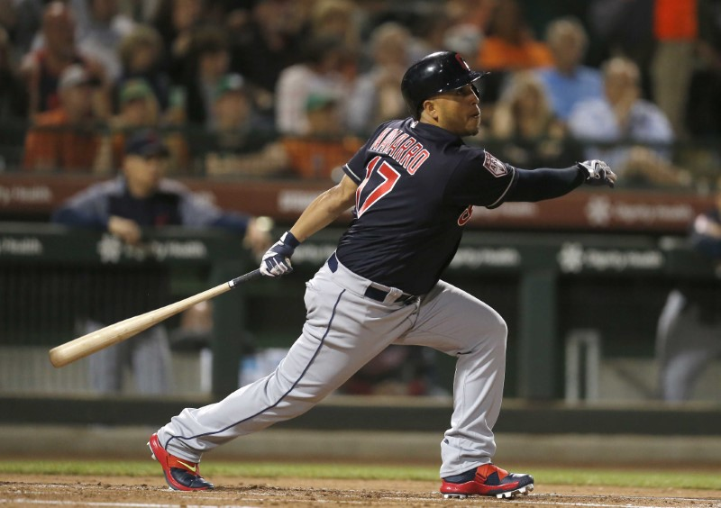 MLB: Spring Training-Cleveland Indians at San Francisco Giants