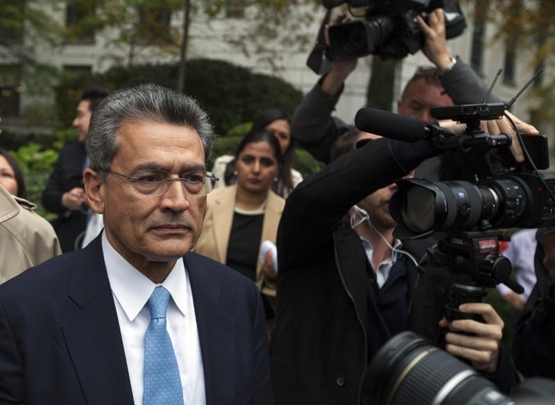 FILE PHOTO: Rajat Gupta departs Manhattan Federal Court after being sentenced in New York