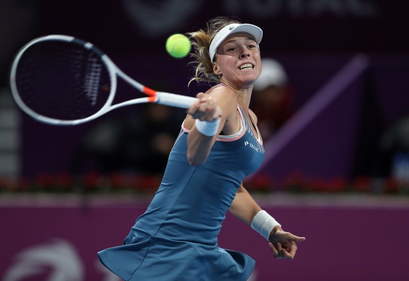 FILE PHOTO: WTA Premier 5 - Qatar Open