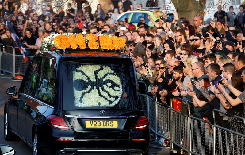 Hundreds Gather in UK Town for Prodigy Lead Vocalist Keith Flint's Funeral