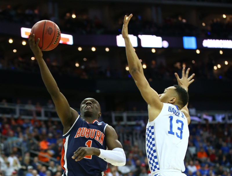 NCAA Basketball: NCAA Tournament-Midwest Regional-Auburn vs Kentucky