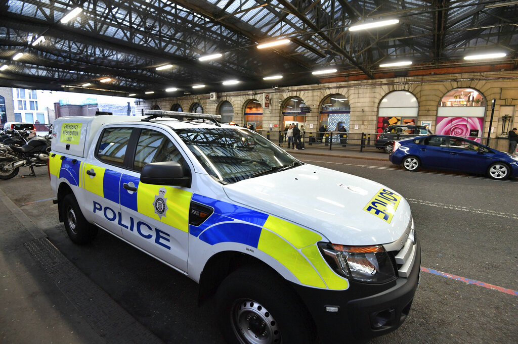 Three explosive packages found at major transport hubs in London