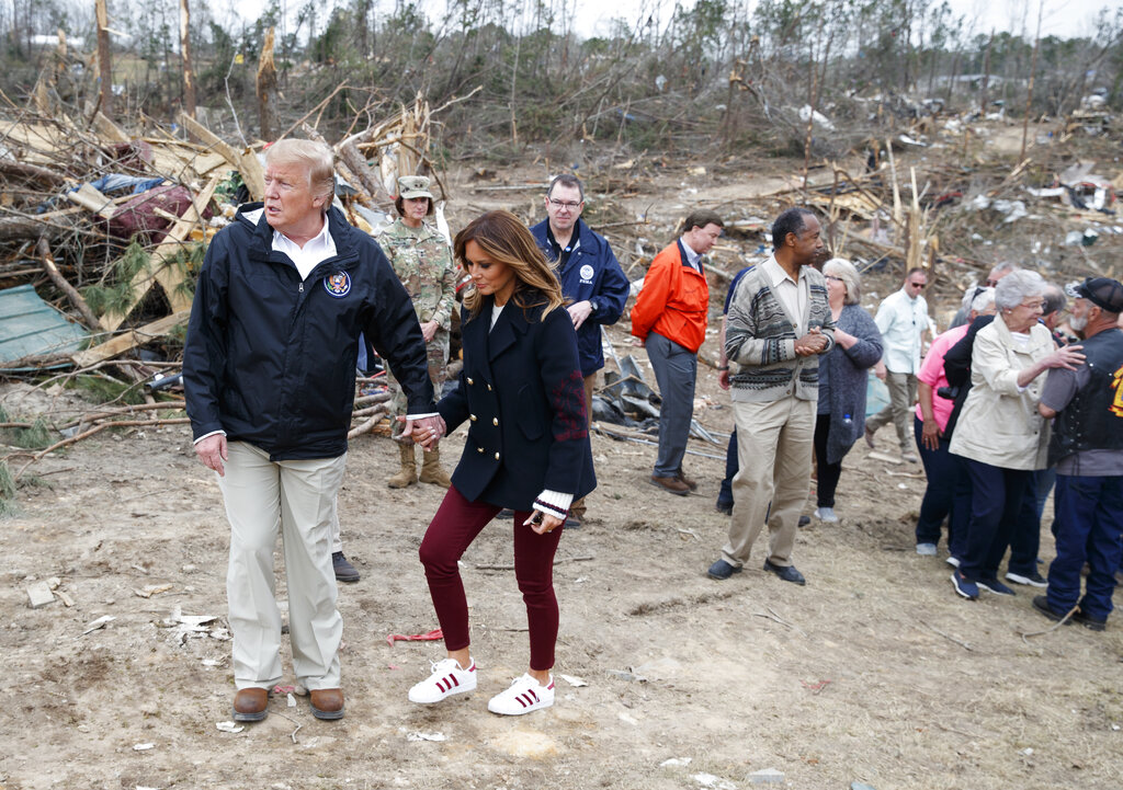 Trump approves major disaster declaration for Lee County after severe weather, tornadoes