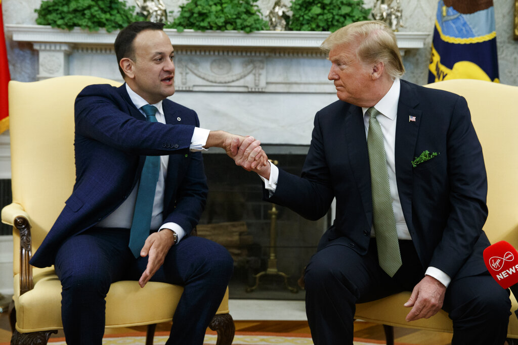 The Irish prime minister brought his boyfriend to meet Vice President Pence