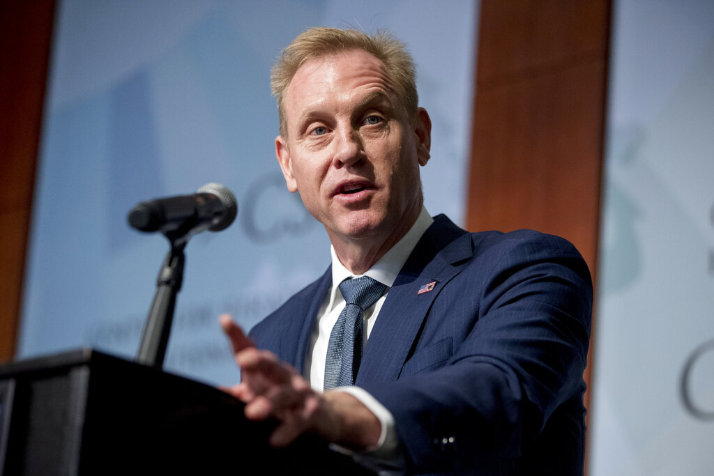 Acting Defense Secretary Shanahan Emphasizes Need For Space Force