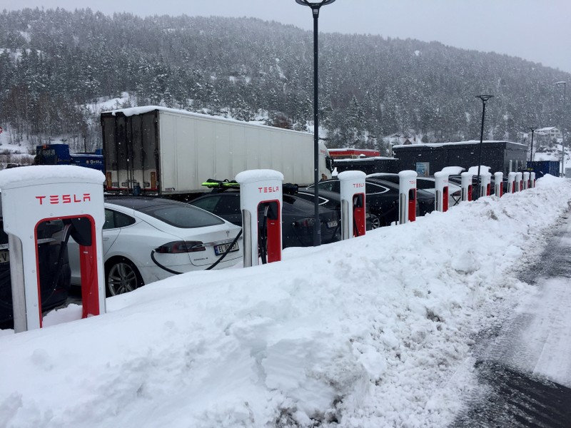 Tesla boom lifts Norway's electric car sales to 58 percent market share