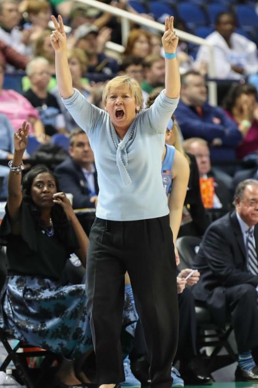 FILE PHOTO: NCAA Womens Basketball: Atlantic Coast Conference Tournament - Notre Dame vs UNC