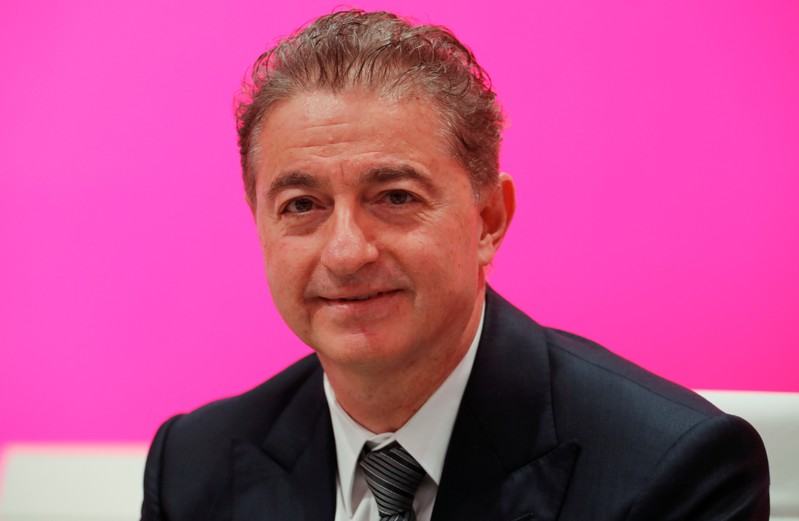 FILE PHOTO:  German Telekom AG board member Al-Saleh is pictured before the annual shareholders meeting of the telecommunications giant in Bonn