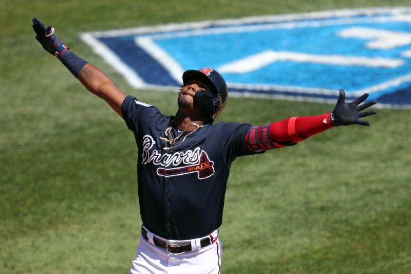 FILE PHOTO: MLB: Spring Training-New York Mets at Atlanta Braves