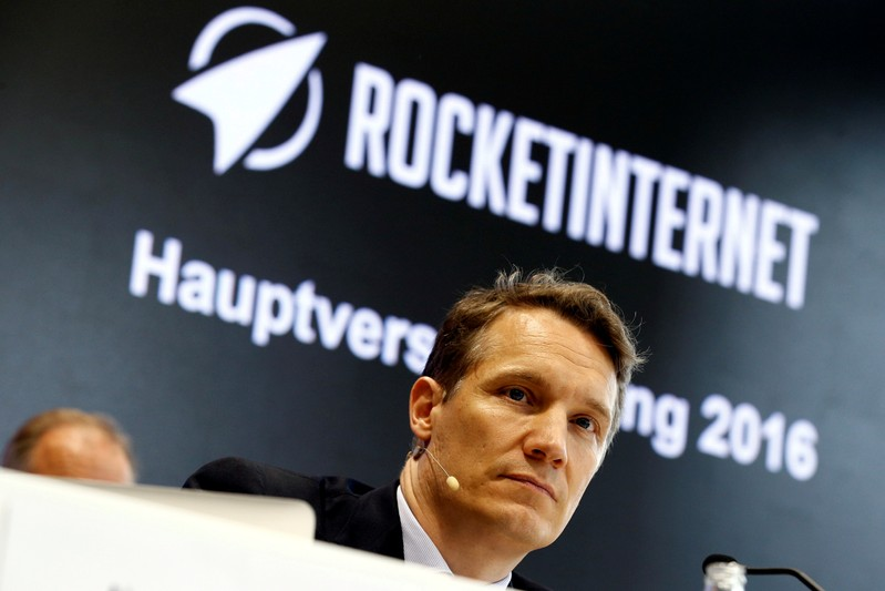 FILE PHOTO: Oliver Samwer, CEO of Rocket Internet, attends the Annual General Meeting of Rocket Internet SE in Berlin