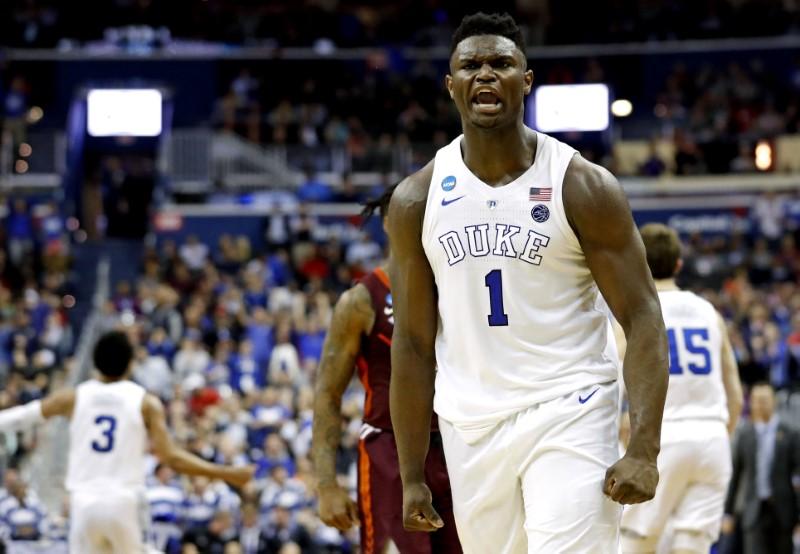 FILE PHOTO: NCAA Basketball: NCAA Tournament-East Regional-Virginia Tech vs Duke