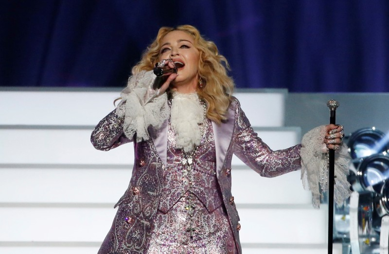 FILE PHOTO: Madonna performs
