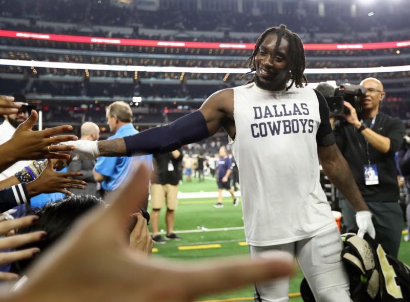 NFL: New Orleans Saints at Dallas Cowboys