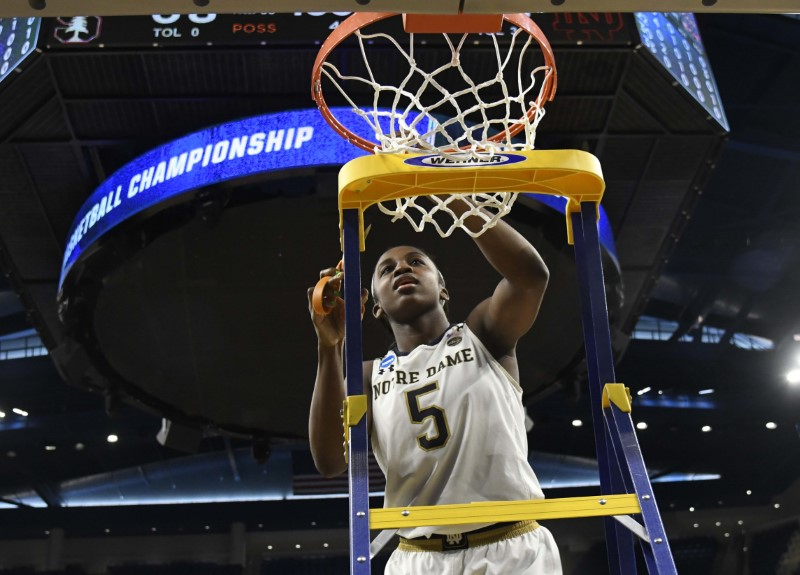 Young leaves Notre Dame early, declares for WNBA Draft