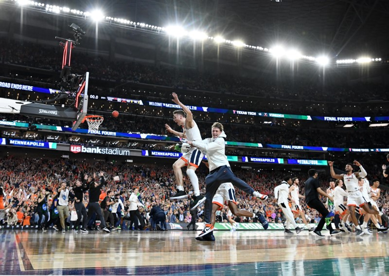 Virginia won the final few seconds of four straight games