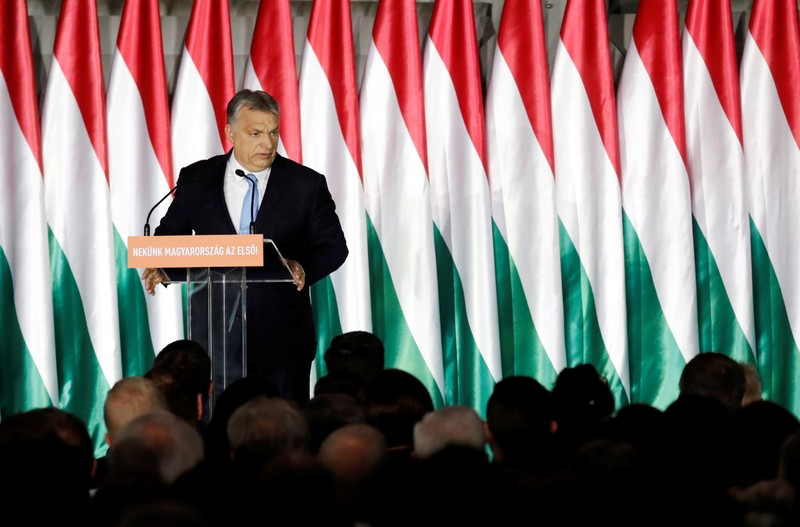 'Like me, a little controversial': Trump praises Hungary's anti-immigration PM Orban