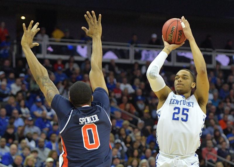 FILE PHOTO: NCAA Basketball: NCAA Tournament-Midwest Regional-Auburn vs Kentucky