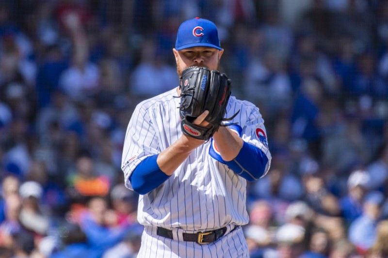 FILE PHOTO: MLB: Pittsburgh Pirates at Chicago Cubs