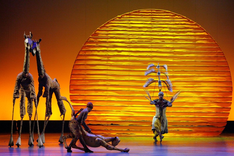 FILE PHOTO: The cast of The Lion King performs the opening number at the 62nd Annual Tony Awards in New York