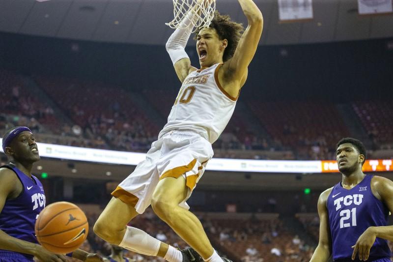 FILE PHOTO: NCAA Basketball: Texas Christian at Texas
